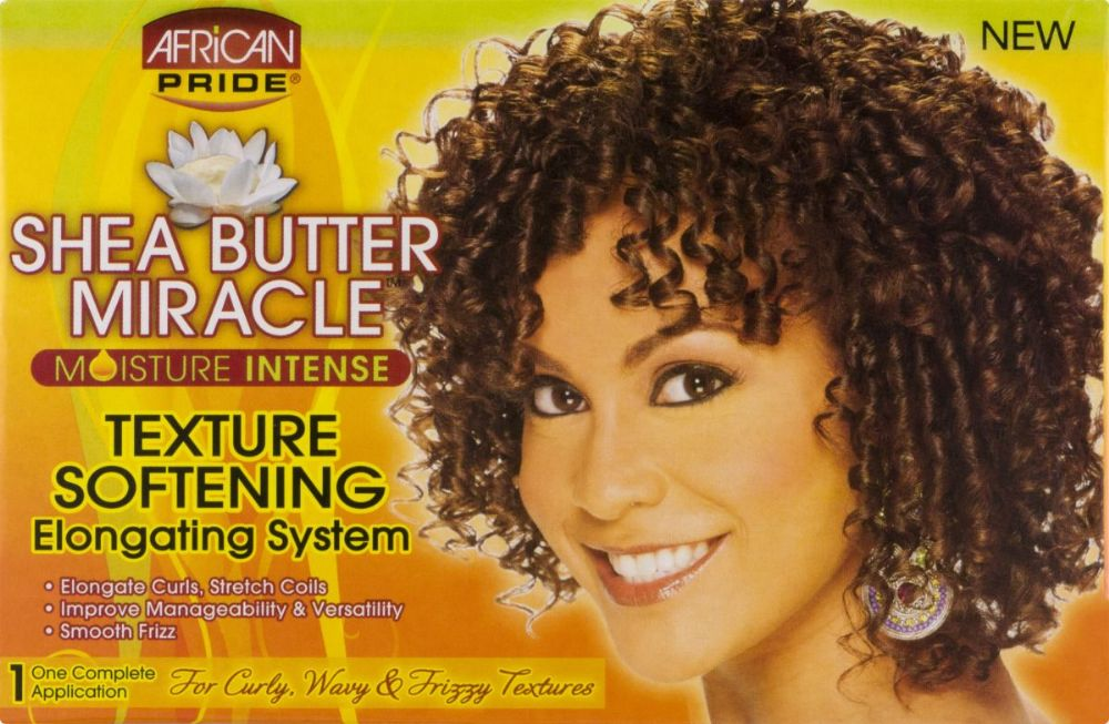 African Pride Shea Butter Miracle Texture Softening System Kit